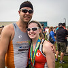 Ryan and Missi at finish