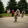 Ryan coming in at end of bike portion
