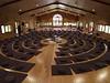 the meditation hall at Upper Hamlet