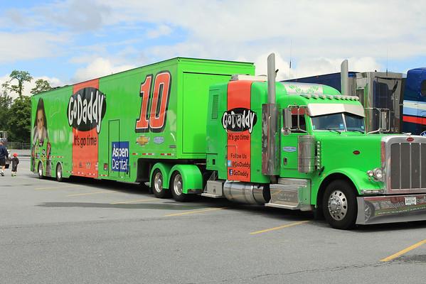 Pocono Raceway Hauler Parade