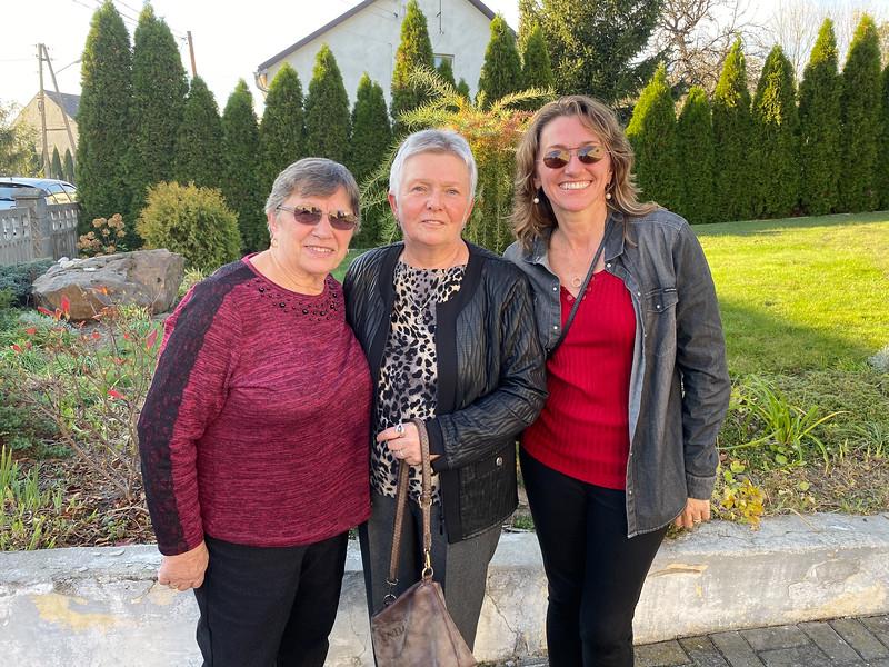 With Ciocia Wiesia in Prudnik