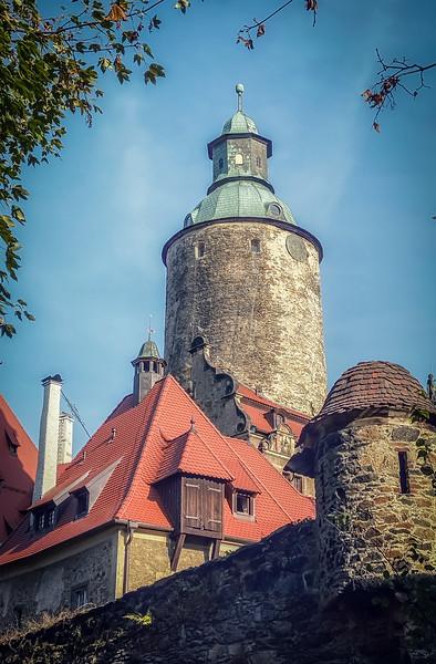 Czocha Castle in Lubań