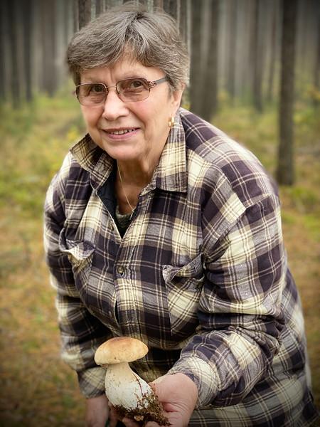 My Mom - Master Mushroom Picker