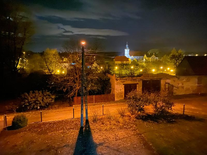 Czerwona Woda at Night
