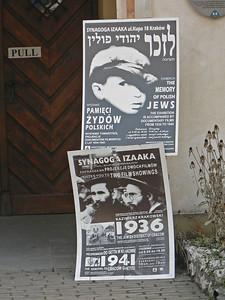 Izaaka synagogue posters