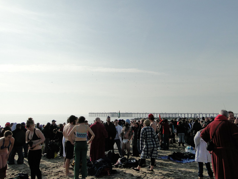 Coney Island Polar Bear Plunge New Years Day 2011