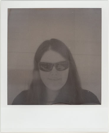 Polaroids: SX-70 with 600 and 600 b&W