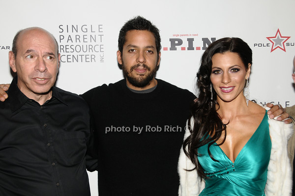 Ken Starr, David Blaine, Diane Passage<br /> photo by Rob Rich © 2009 robwayne1@aol.com 516-676-3939