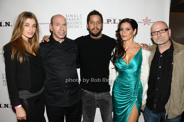 Alizee Guinochet, Ken Starr, David Blaine, Diane Passage, Dennis Rogers<br /> photo by Rob Rich © 2009 robwayne1@aol.com 516-676-3939