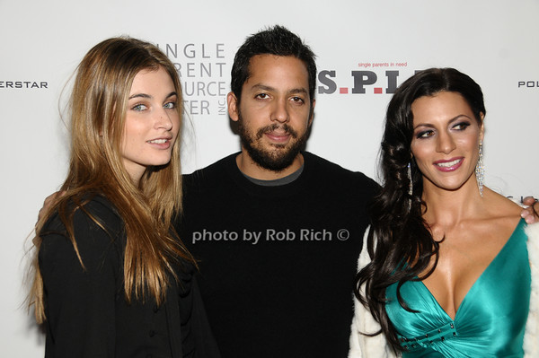 Alizee Guinochet,  David Blaine, Diane Passage <br /> photo by Rob Rich © 2009 robwayne1@aol.com 516-676-3939