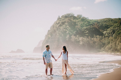Pololu Engagement Session // Will and Chau