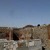 A Roman kitchen in a villa.