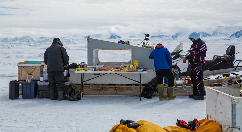 Lunch on the Floe Edge