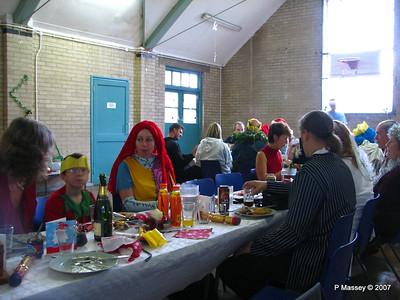 Christmas Dinner - Paula, Kier, Karen & Sam - Amanda
