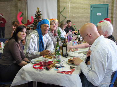 Christmas Dinner - Jane, Keith, Claire, Beverely A, Mick, Ann & Chris