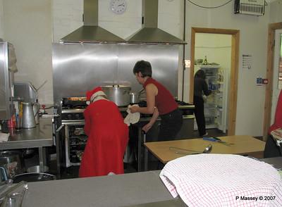 Preparing Christmas Dinner - Karen & Amanda