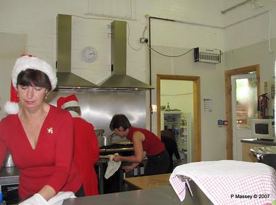 Preparing Christmas Dinner - Theresa, Karen & Amanda