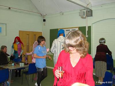 Awaiting the Celebration - Claire, Karen, [Anastasia behind] Beth, Keith, Paula & Bay