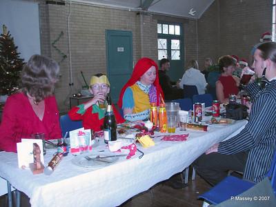 Christmas Dinner - Paula, Kier, Karen & Sam