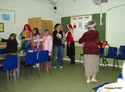 Awaiting the Celebration - Claire, Karen, Laurienne, Anastasia, Zoe, Karen, Theresa & Bay