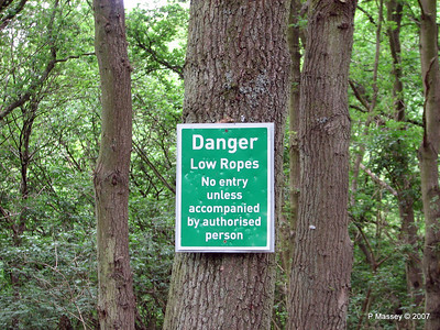 Danger - Low Ropes