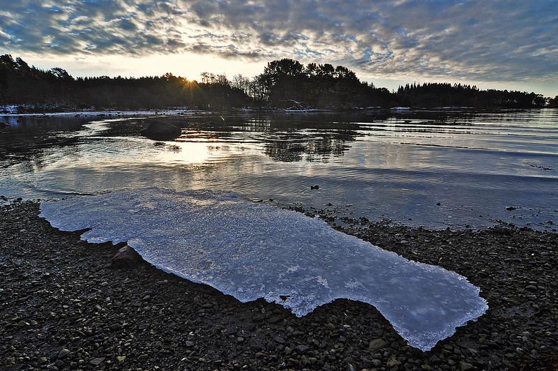 Soloppgang fra Vinnesleiro <br /> <br /> Sunrise from Vinnesleiro naturereservat