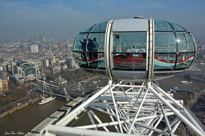 Utsikt fra London eye<br /> <br /> View from London eye