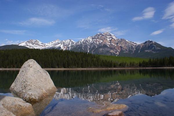 Jitendrapal Sharma - Tranquility at Patricia Lake - Mount Pyramid