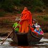 Greg Goodman - Monk Pilot on the Mekong River, Laos