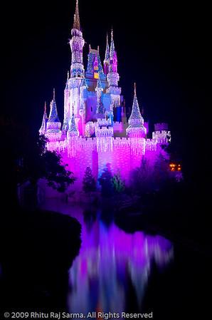 Cinderella Castle, Disney Orlando