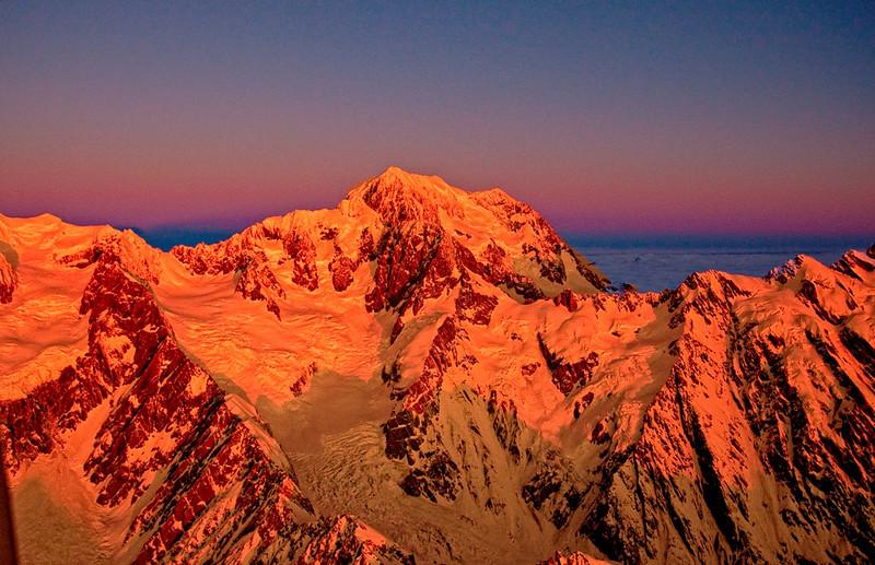 John Mead - Last Light on the Southern Alps