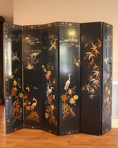 Sweet double sided decorator screen