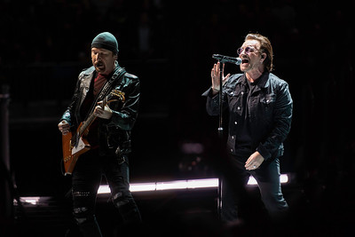 U2 eXPERIENCE + iNNOCENCE Tour, O2 Arena London, 23 October 2018