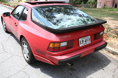 Porsche 944 Turbo Paint Project