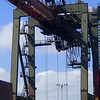 Crane Steel from Brazil Port of Los Angeles