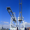Cranes Port of Long Beach CA