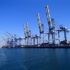 Cranes Port of Los Angeles