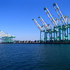 Cranes Port of Los Angeles CA