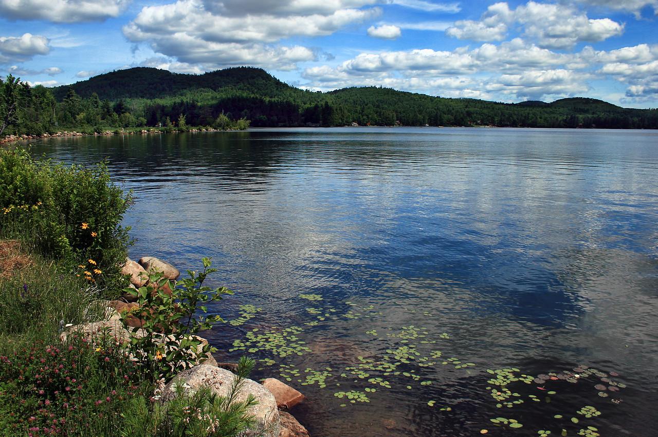 Fern Lake in the Adirondacks Upstate New York, June 2009.