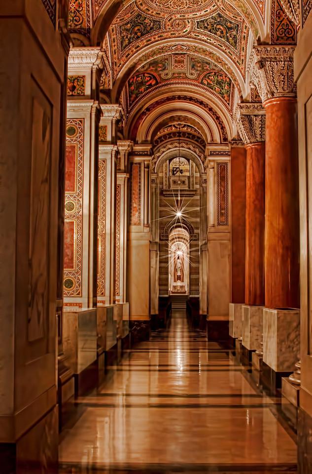 Jesus hallway