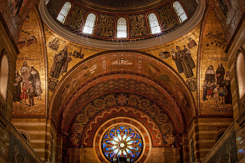 Cathedral Basilica. Edited in Topaz with Adjust plus star effects.  I use Topaz almost exclusively now.
