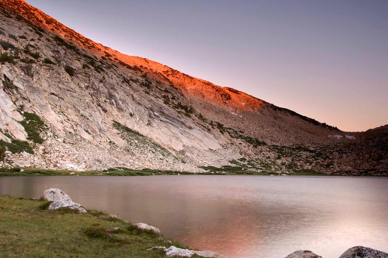 Vogelsang Sunset: Yosemite NP