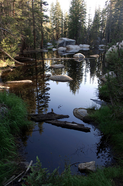 May Lake Trailhead: Yosemite NP