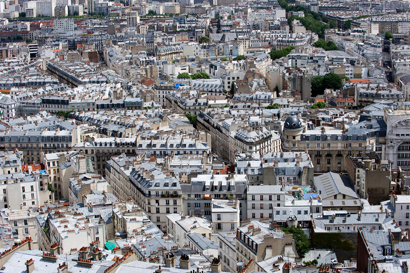 View From Sacre Coeur