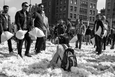 Pillow Fight Day at the Dam Square (2014)