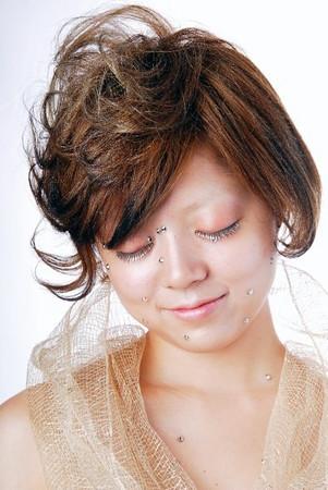 Cosmetic eye lash extensions