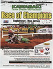 Photo of Ryan Villopoto form the 2004 Kawasaki Race of Champions used in a national print ad featured in Dirt Rider magazine for the 2005 Kawasaki Race of Champions. Englishtown NJ