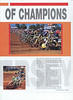 Amateur MX magazine. January 2005 issue. 4 page race coverage story featuring photos words and results. Race coverage of 2004 Kawasaki Race of Champions Englishtown NJ. Page 2