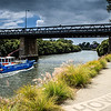 Parramatta, NSW, Australia<br /> The Macarthur Bridge (commonly known as the Gasworks Bridge - there used to be a large gasworks on the bank nearby), completed in 1885.