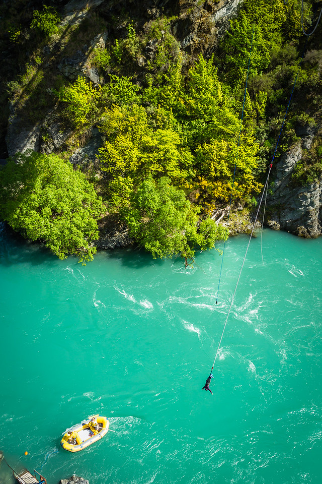 Bungee Jumping, Queenstown